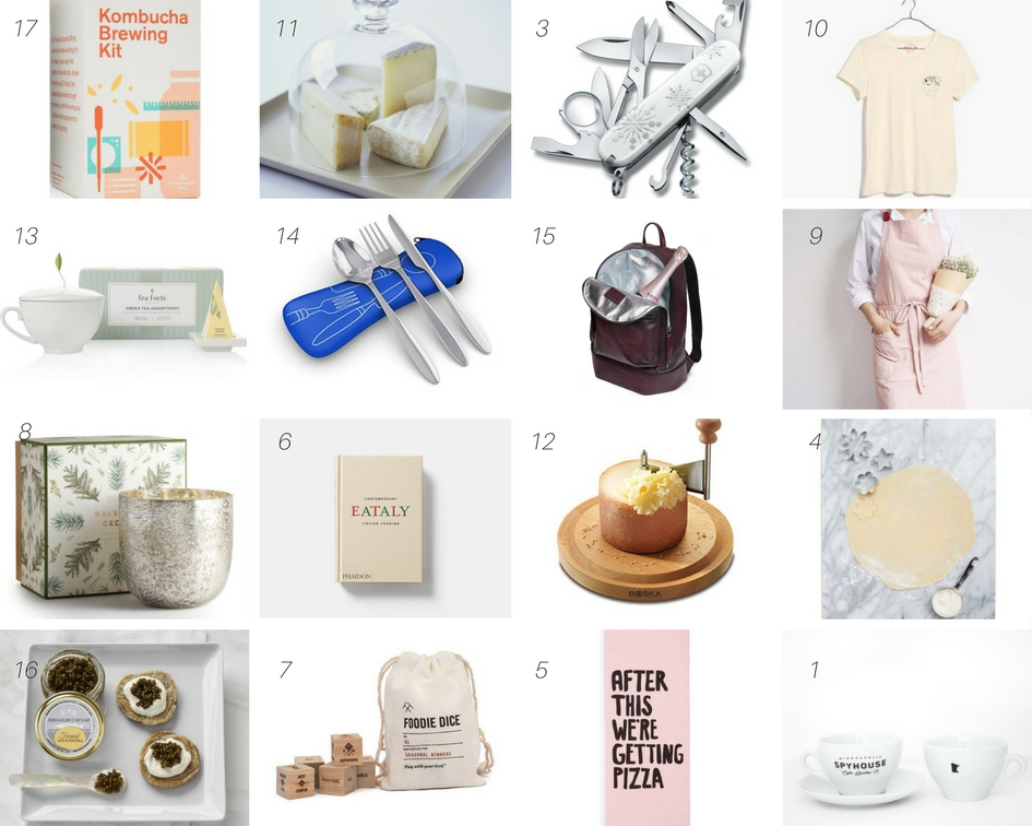 Gift Guide for a Foodie